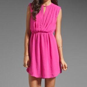 Rebecca Taylor Dress hot pink size 2 NWOT
